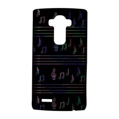 Music pattern LG G4 Hardshell Case