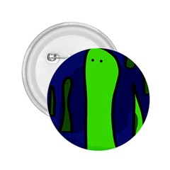 Green snakes 2.25  Buttons