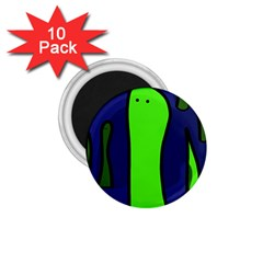 Green snakes 1.75  Magnets (10 pack)