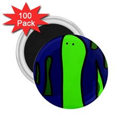 Green snakes 2.25  Magnets (100 pack)
