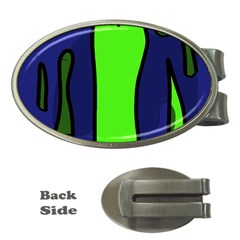 Green snakes Money Clips (Oval)
