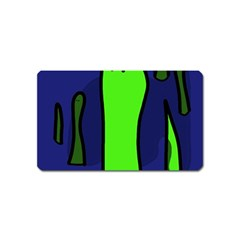 Green snakes Magnet (Name Card)