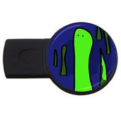 Green snakes USB Flash Drive Round (2 GB)