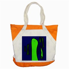 Green snakes Accent Tote Bag