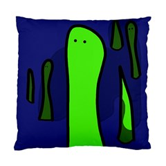 Green snakes Standard Cushion Case (Two Sides)