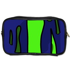 Green snakes Toiletries Bags 2-Side