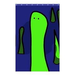 Green snakes Shower Curtain 48  x 72  (Small)