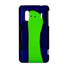 Green snakes HTC Evo Design 4G/ Hero S Hardshell Case