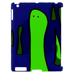 Green snakes Apple iPad 2 Hardshell Case (Compatible with Smart Cover)