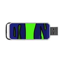 Green snakes Portable USB Flash (Two Sides)