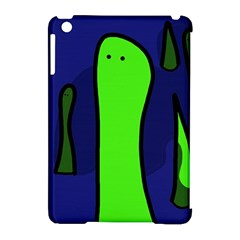 Green snakes Apple iPad Mini Hardshell Case (Compatible with Smart Cover)