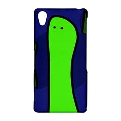 Green snakes Sony Xperia Z2