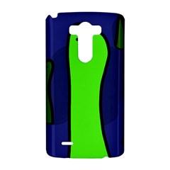 Green snakes LG G3 Hardshell Case