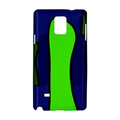 Green snakes Samsung Galaxy Note 4 Hardshell Case