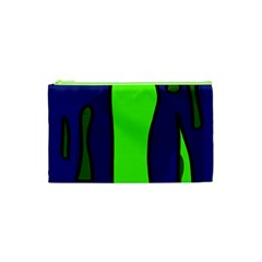 Green snakes Cosmetic Bag (XS)