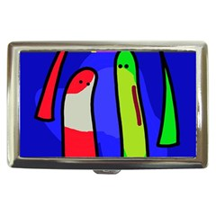 Colorful snakes Cigarette Money Cases