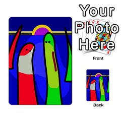 Colorful Snakes Multi Purpose Cards (rectangle)