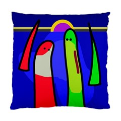 Colorful snakes Standard Cushion Case (Two Sides)
