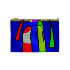 Colorful snakes Cosmetic Bag (Medium)