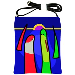 Colorful snakes Shoulder Sling Bags