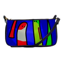 Colorful snakes Shoulder Clutch Bags