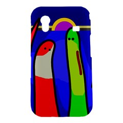Colorful snakes Samsung Galaxy Ace S5830 Hardshell Case