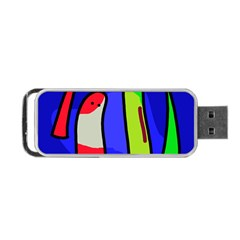 Colorful snakes Portable USB Flash (Two Sides)