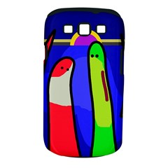 Colorful snakes Samsung Galaxy S III Classic Hardshell Case (PC+Silicone)