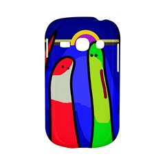 Colorful snakes Samsung Galaxy S6810 Hardshell Case