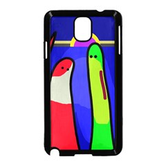 Colorful snakes Samsung Galaxy Note 3 Neo Hardshell Case (Black)
