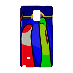 Colorful snakes Samsung Galaxy Note 4 Hardshell Case