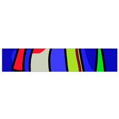 Colorful snakes Flano Scarf (Small)