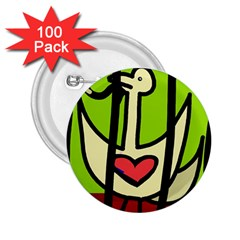 Duck 2.25  Buttons (100 pack)