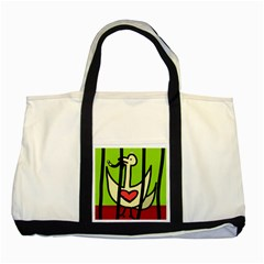Duck Two Tone Tote Bag