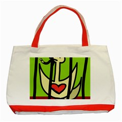 Duck Classic Tote Bag (Red)