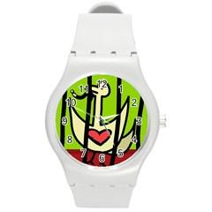 Duck Round Plastic Sport Watch (M)