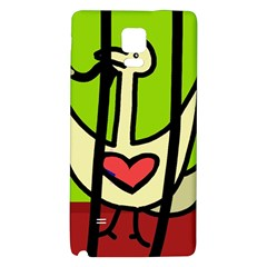 Duck Galaxy Note 4 Back Case