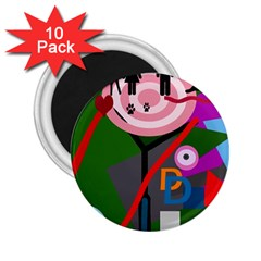 Party 2.25  Magnets (10 pack)