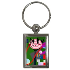 Party Key Chains (Rectangle)