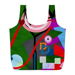 Party Full Print Recycle Bags (L)