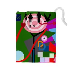 Party Drawstring Pouches (Large)