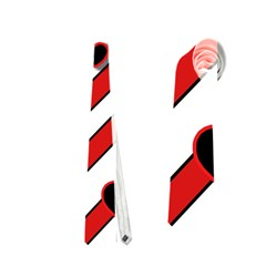 Black and red harts Neckties (Two Side)