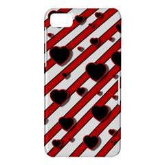 Black and red harts BlackBerry Z10