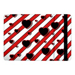 Black and red harts Samsung Galaxy Tab Pro 10.1  Flip Case