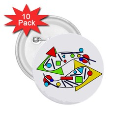 Catch me 2.25  Buttons (10 pack)