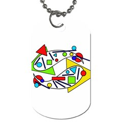 Catch me Dog Tag (Two Sides)
