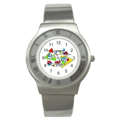 Catch me Stainless Steel Watch