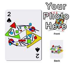 Catch me Playing Cards 54 Designs