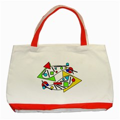 Catch me Classic Tote Bag (Red)