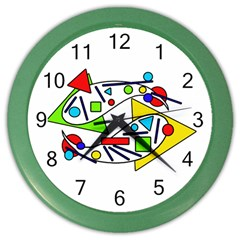 Catch me Color Wall Clocks